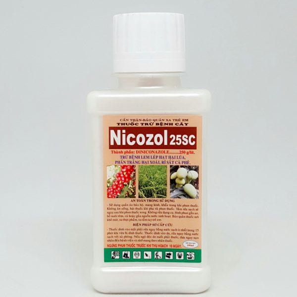 Thuốc trừ nấm NICOZOL 25SC