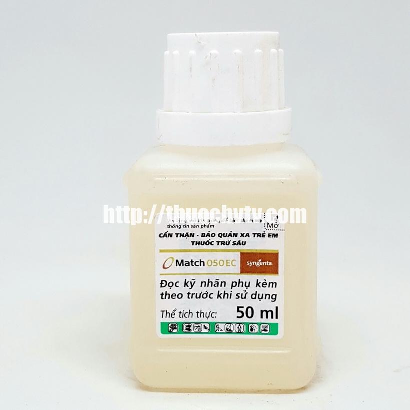 Thuốc trừ sâu MATCH 050EC