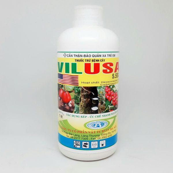 Thuốc trừ nấm bệnh VILUSA 5.5SC
