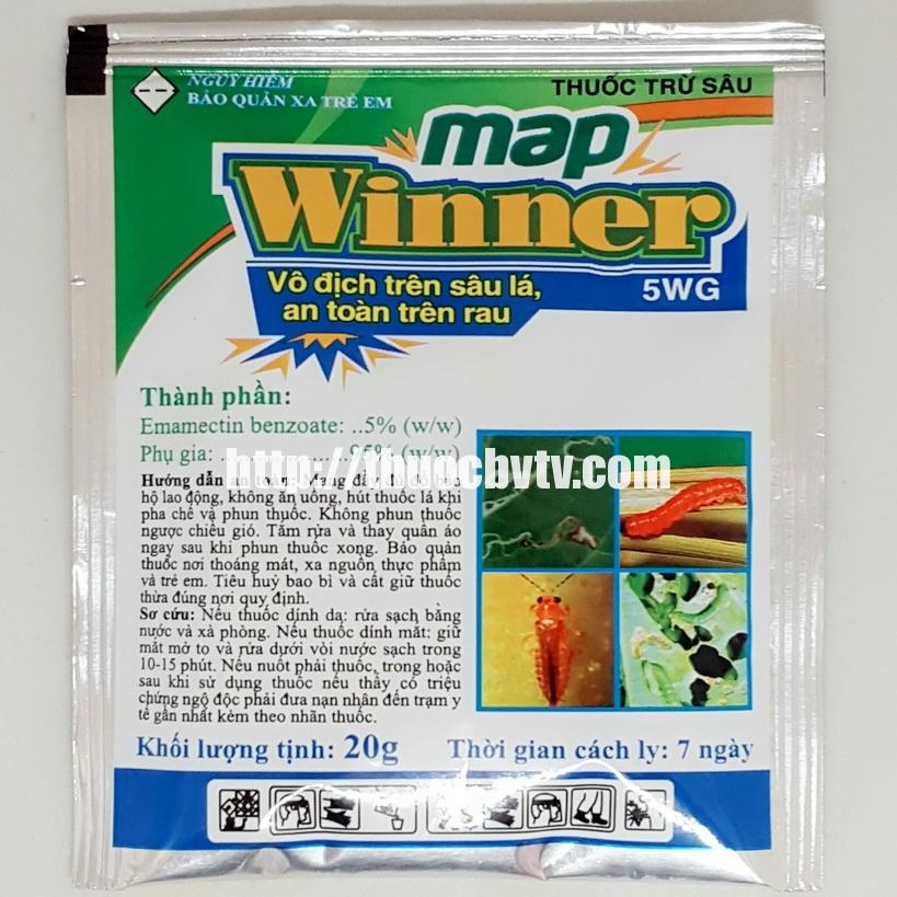 Thuốc trừ sâu MAP WINNER 5WG