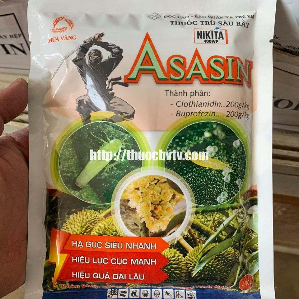 thuốc đặc trị rầy ASASIN 100GR